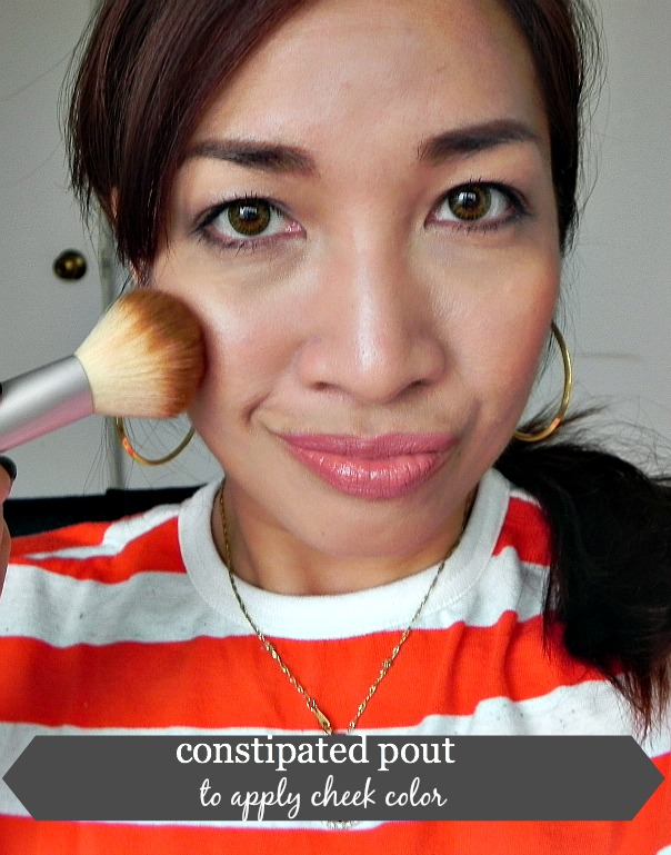how to apply blush, how to apply cheek color