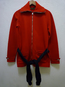 20's~30's NATIONAL SPORTSWEAR FULL ZIP WOOL SPORTS JKT.