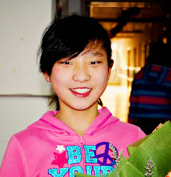 Carlee MingWei age 13, (waiting in China)