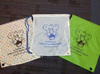 PSU Camper Drawstring Bags, $10 each