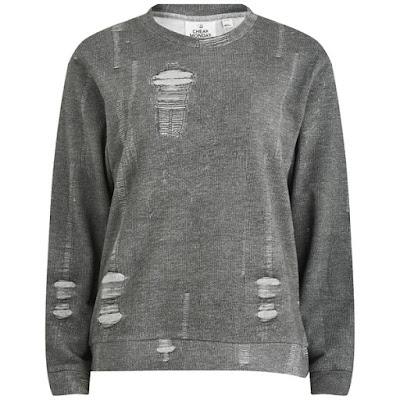 Grey Sweatshirt from Cheap Monday