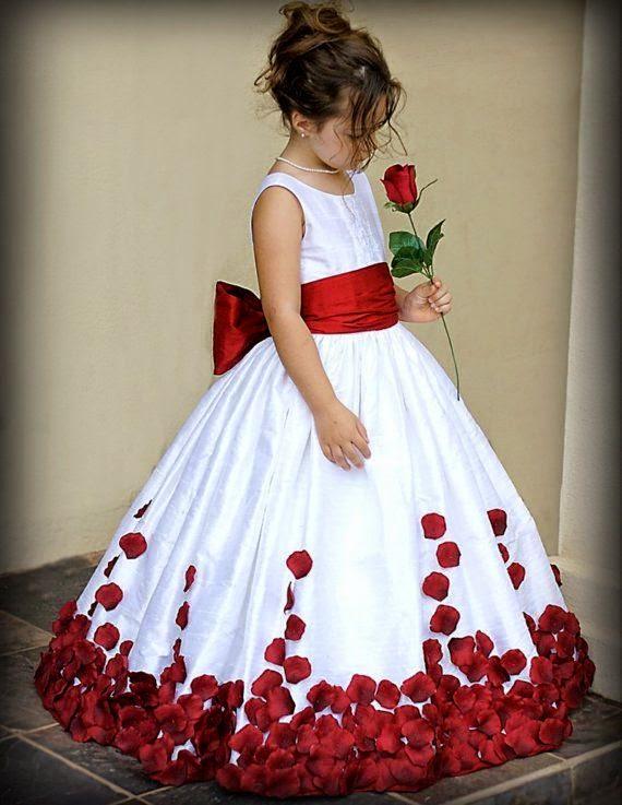 Memilih Baju Gaun Untuk Anak Perempuan Unyu Unyu Poloskaos1