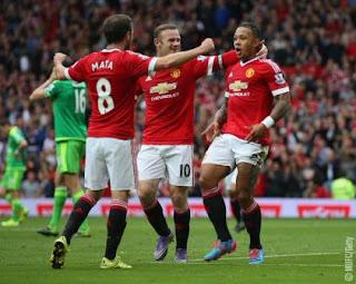 Bekuk Sunderland 3-0, Manchester United ke Puncak Klasemen