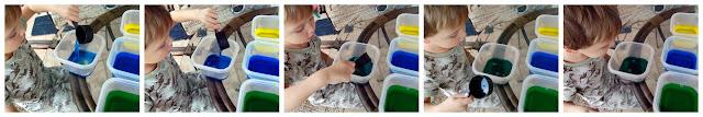 Because I'm Me color mixing preschool activity