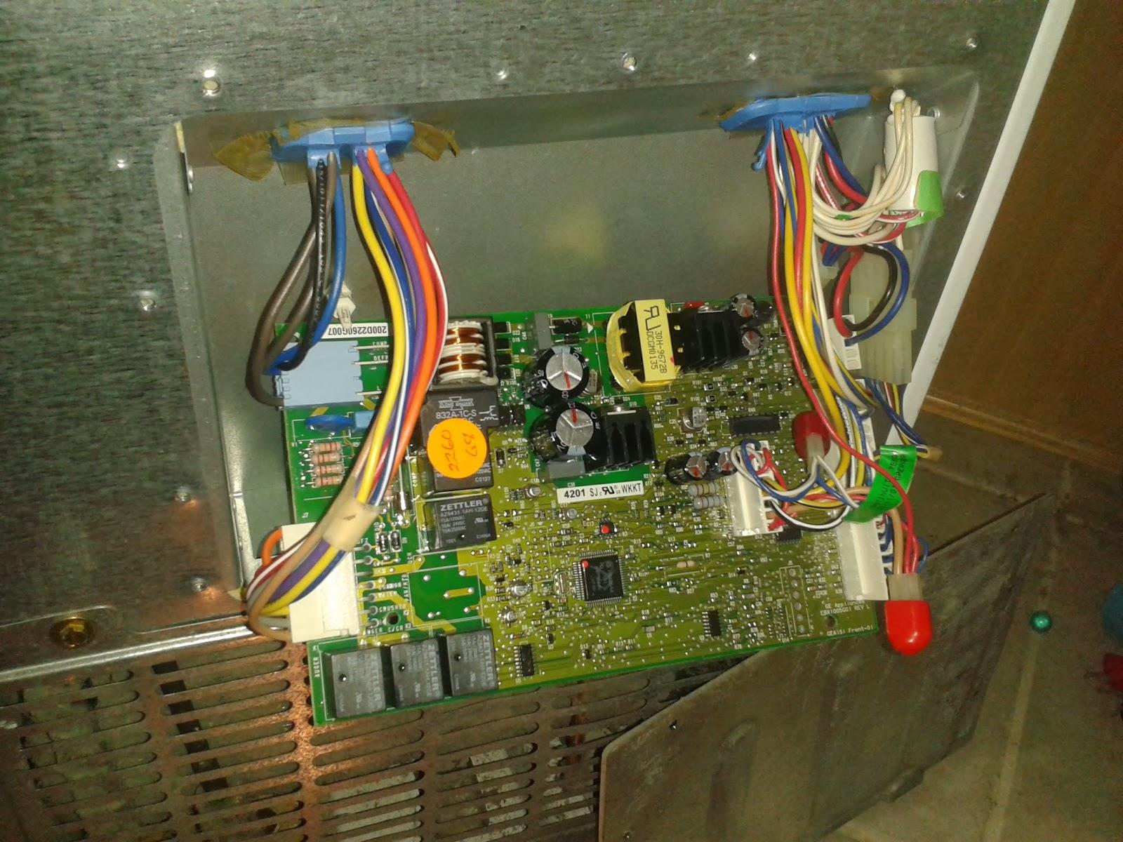 ge refrigerator motherboard wiring diagram ge refrigerator GE Defrost Timer Wiring Diagram GE Profile Refrigerator Wiring Diagram