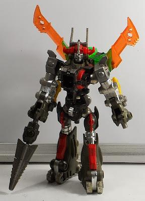 Takara Microman: Acroyear Magnemo, combiner/gattai toy set