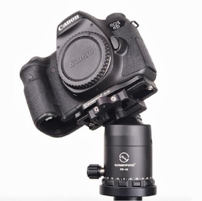 Canon EOS 6D w/ Sunwayfoto PC-6D on FB-44 ball head