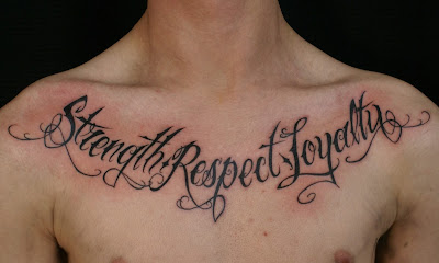 Respect and Loyalty Tattoo Pictures