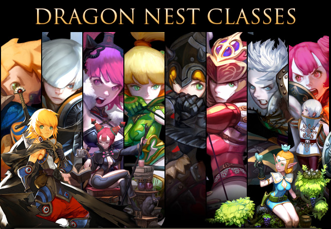 Character Dragon Nest Indonesia Dragon Nest Characters Exist