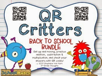 http://www.teacherspayteachers.com/Product/QR-Critters-BUNDLE-Back-to-School-1270710
