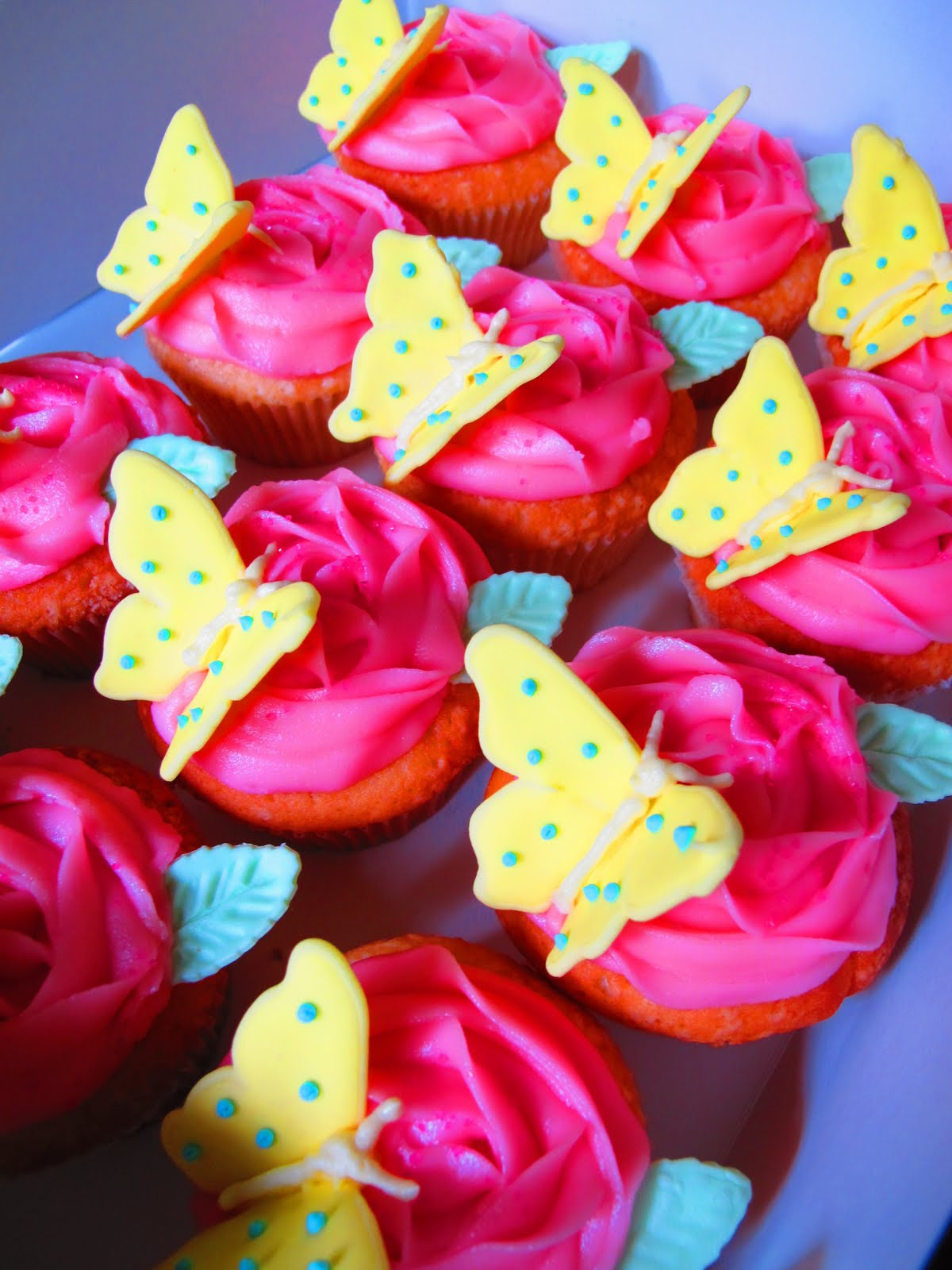 Butterfly Birthday Cake Cupcakes submited images