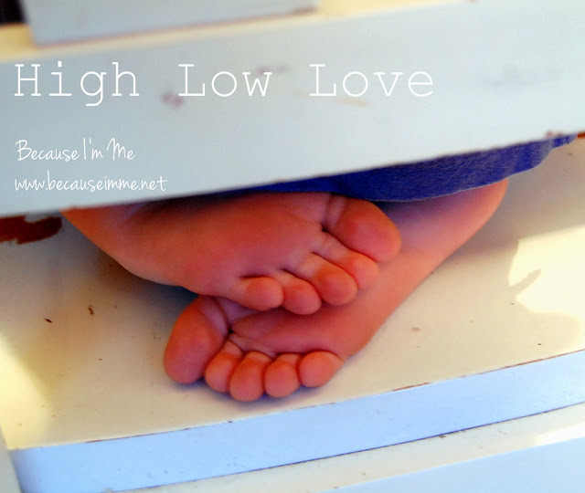 High Low Love, a great way to begin dialogue within a family, at Because I'm Me