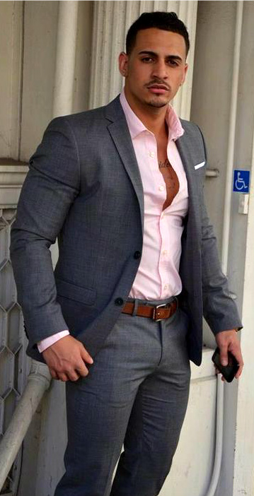 latino mens fashion: