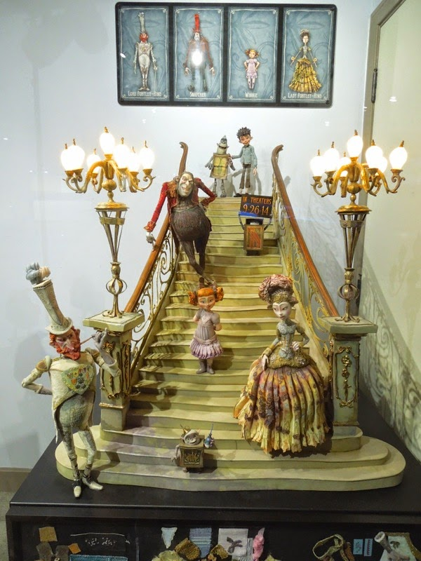 The Boxtrolls character stop-motion figures