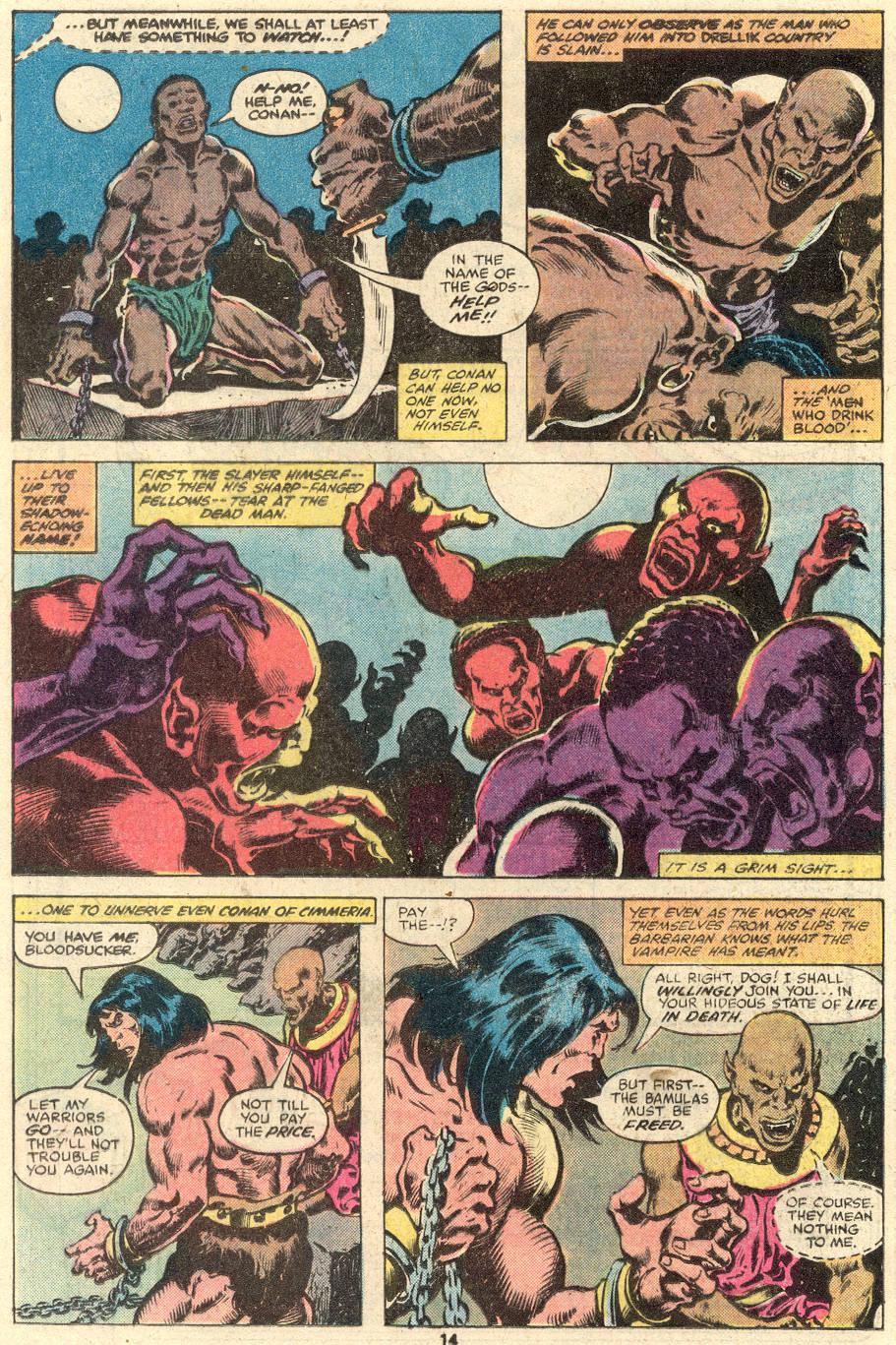Conan the Barbarian (1970) Issue #103 #115 - English 9