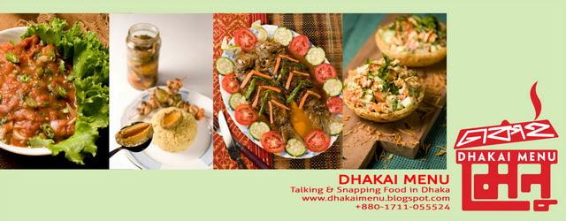 Dhakai Menu