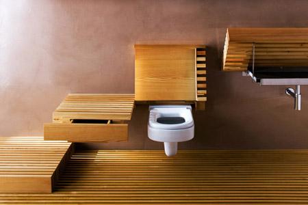 Braxton And Yancey Danish Modern Bathrooms