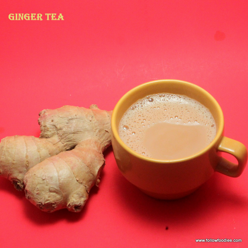 Ginger Tea , chai Recipe