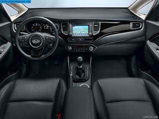 Kia carens car 2013 interior - صور سيارة كيا كارينز 2013 من الداخل