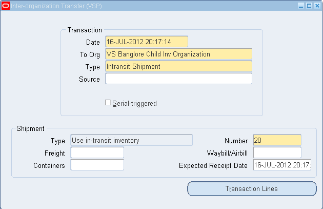 Vipuls Oracle Apps Blog Receipt Routing – Standard Receipt