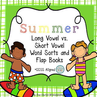https://www.teacherspayteachers.com/Product/Vowels-Long-Versus-Short-Summer-1871049