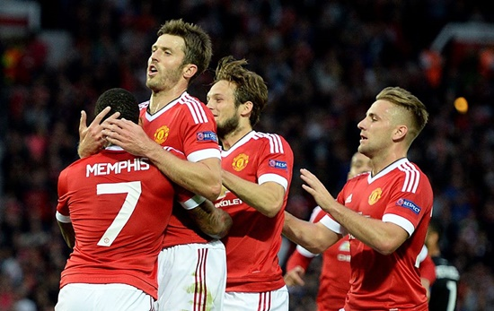Manchester United 3 x 1 Club Brugge - Champions League 2015/16