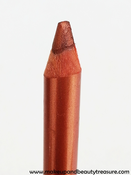 The Body Shop Metallic Eye Definer '13 Burnished Amber' Review, Swatches & EOTD
