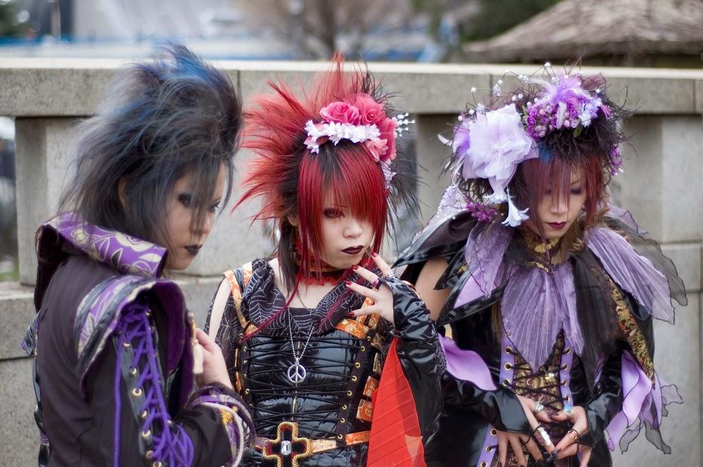 disfraces en Harajuku