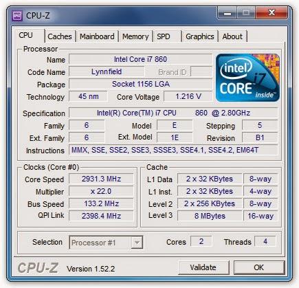 CPU-Z Full Setup İndir