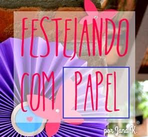 Festejando com papel