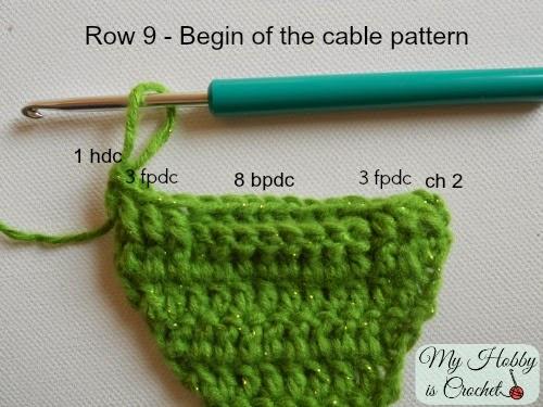 My Hobby Is Crochet Crochet Cable Headband Easy Fit Free Crochet