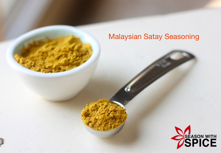 Malaysian Satay Seasoning available at SeasonWithSpice.com