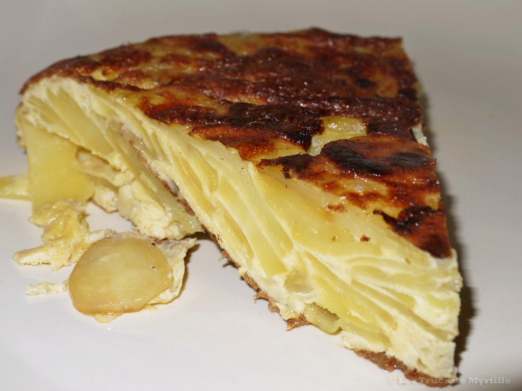 Voir la recette de la tortilla de patatas (omelette espagnole)