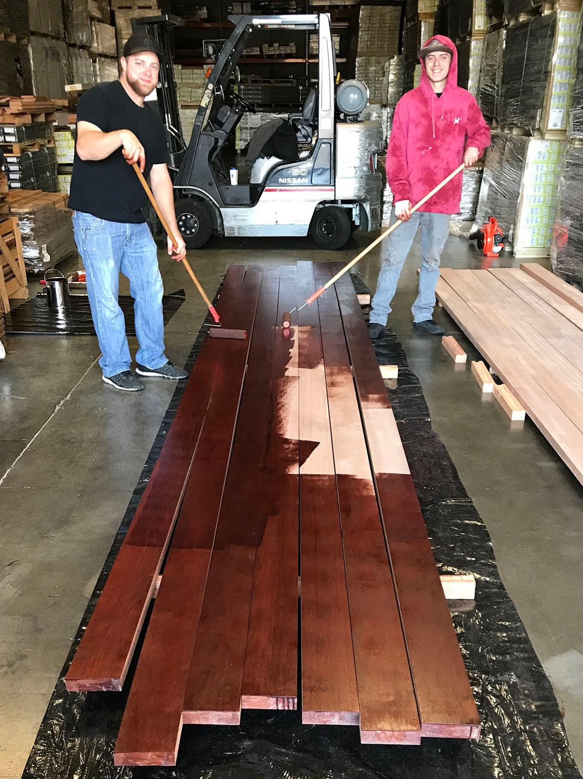 In Order To Correctly Apply ExoShield Wood Finish, The First Step Is  Obtaining A Very Clean And Smooth Surface. Be Sure To Scrub The Wood  Thoroughly ...