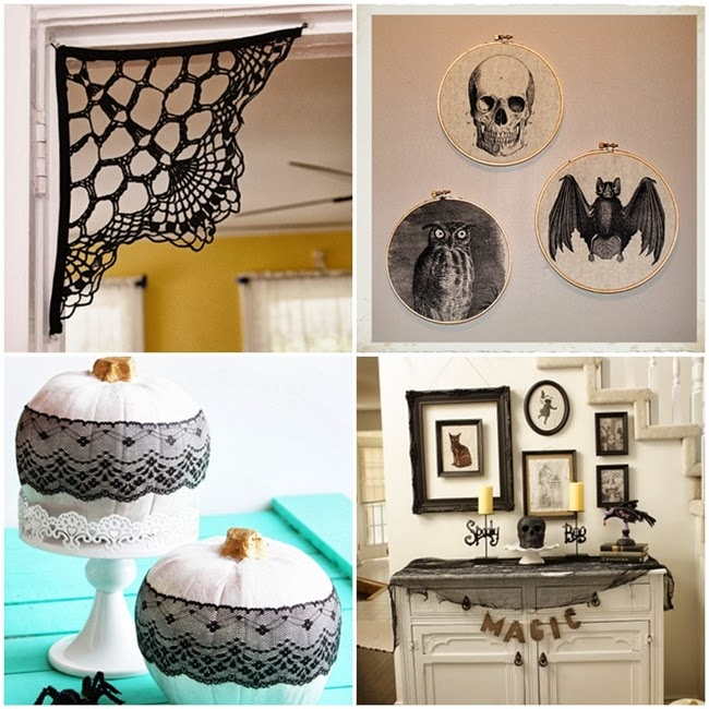 12 Elegant Diy Halloween Decor Ideas Va Voom Vintage