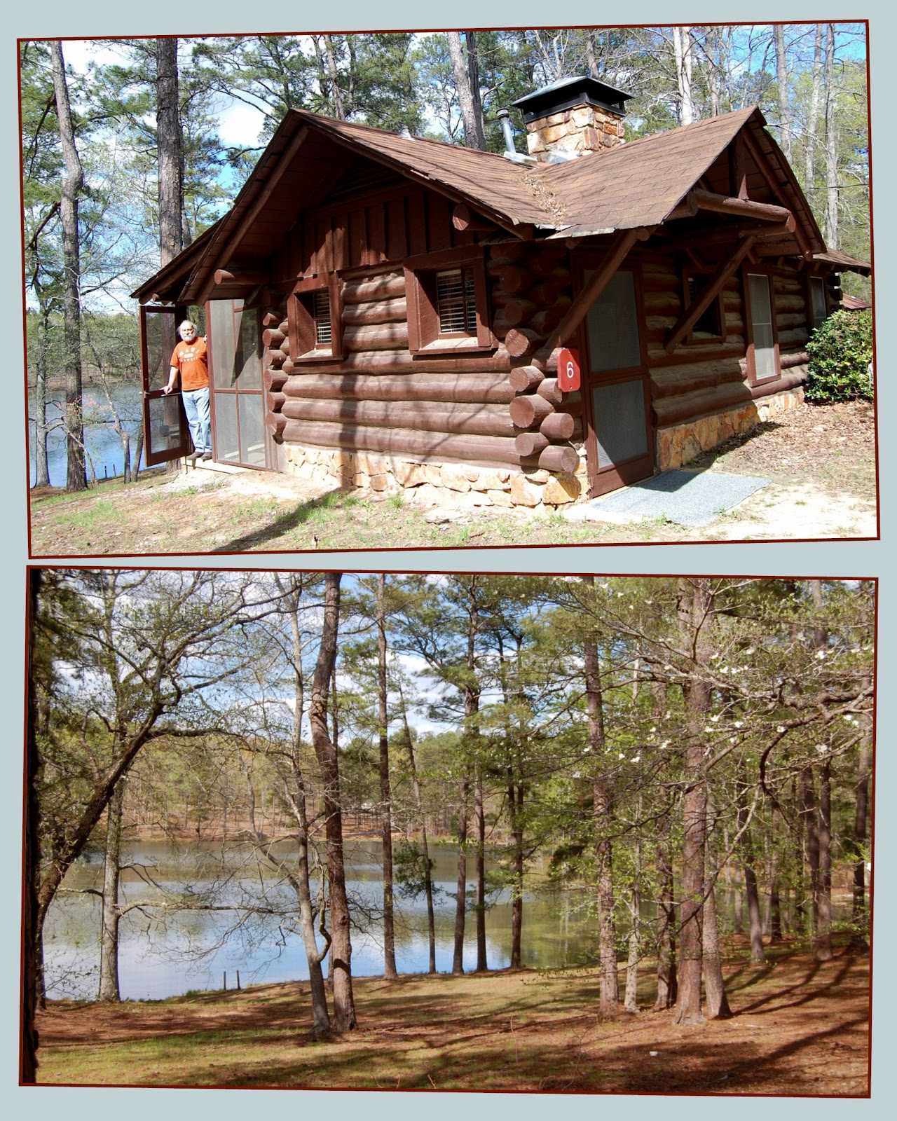 Superb img of Then we drove to our little log cabin one of the original cabins  with #90623B color and 1280x1600 pixels