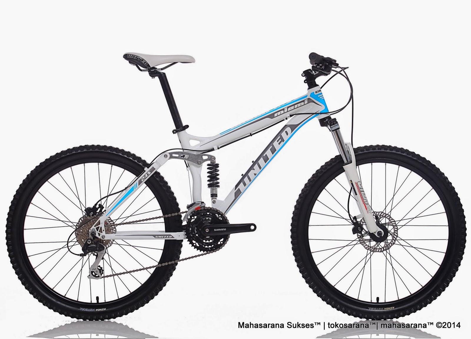 Sepeda Gunung United Miami FX77 24 Speed Hydraulic Disc Brake