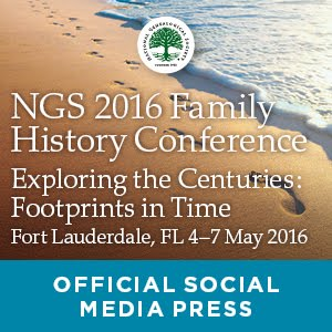 Attending NGS Family History Conference 2016