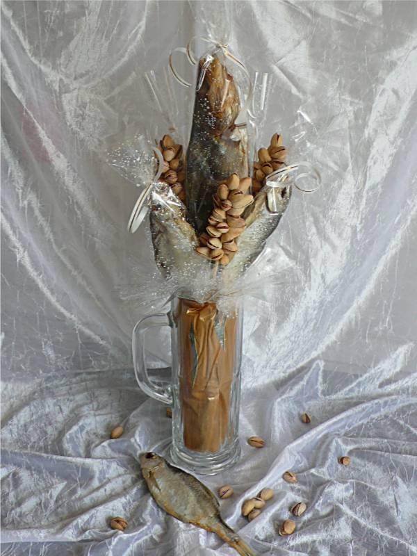 Пивная кружка из конфет своими руками мастер