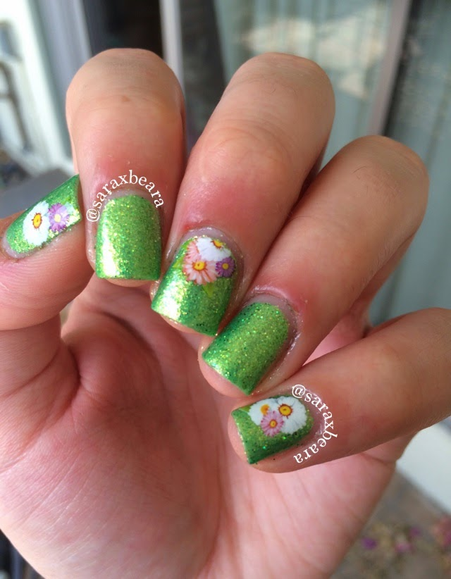 "Krafty Gurl Designs Nail Dazzle ""Day Lily"""