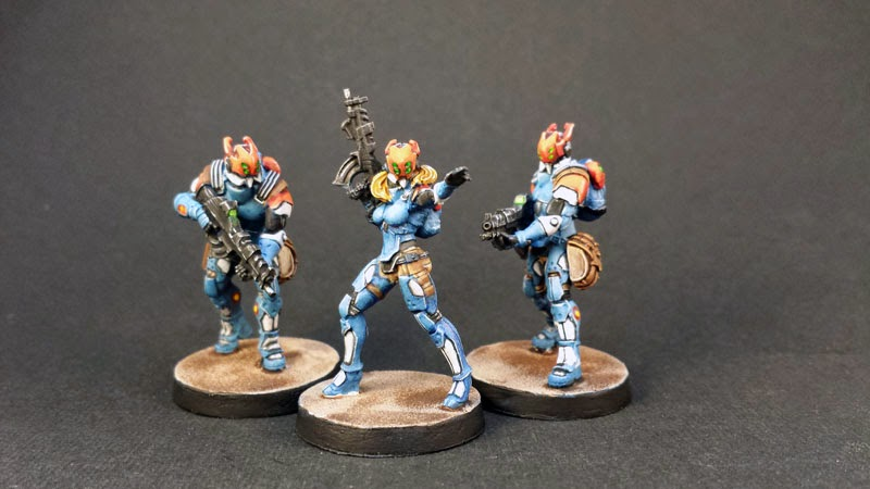 NEOTERRA CAPITALINE ARMY SECTORIAL STARTER PACK- PANOCEANIA - INFINITY THE GAME