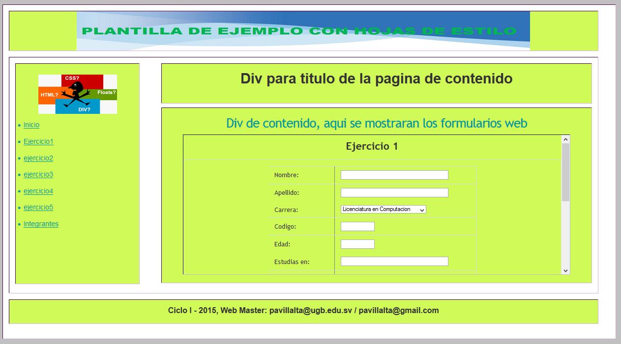 Cómo Abrir una Página HTML Dentro de un DIV? - Diseño y Desarrollo ...