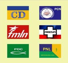historia partidos politicos salvador