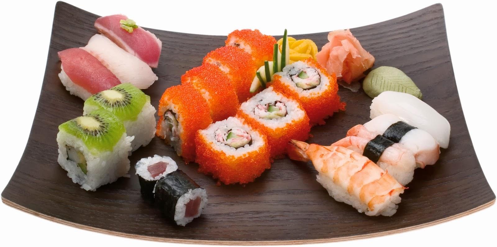 Все виды суши и рецептами