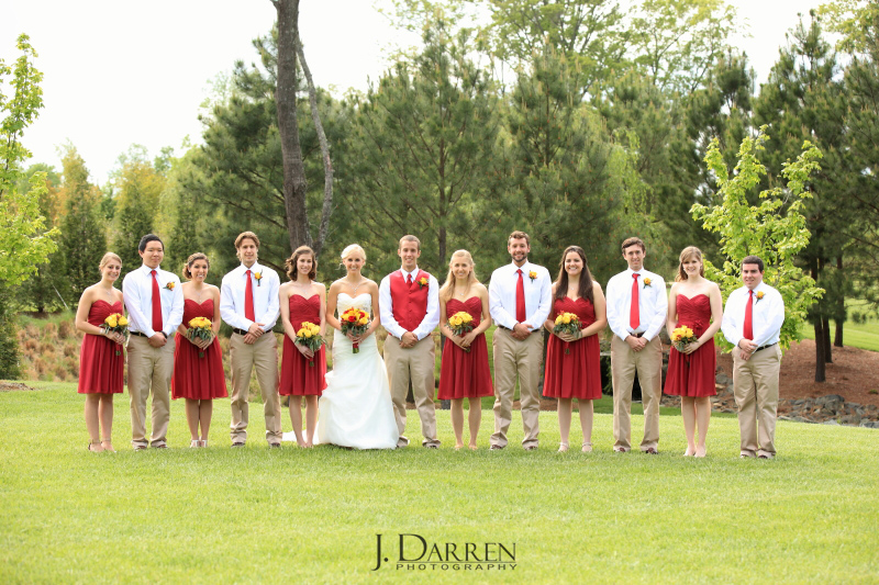The Arbors Events North Carolina Wedding Photographer