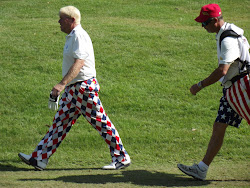 John Daly and caddie.