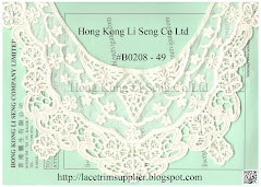 Embroidered Cotton Lace Applique - Hong Kong Li Seng Co Ltd