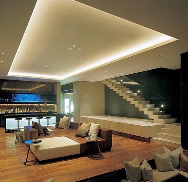 Sala Pequena Com Escada ~ Construindo Minha Casa Clean 10 Dicas para Decorar Salas de Estar!!!