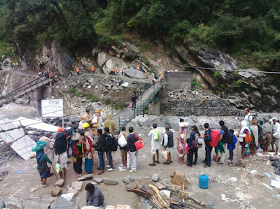 resuce operation in kedarnath
