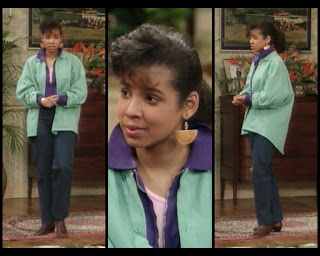 Cosby Show Huxtable fashion blog 80s sitcom Ana D Zenon Lana Herman